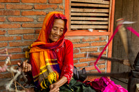 Woman spinning - Flores - Indonesia